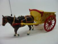 Britains Horsedrawn Tumbrel Cart